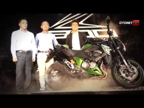 Launching Kawasaki Z800