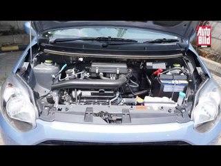 Test Drive Daihatsu Ayla M A/T