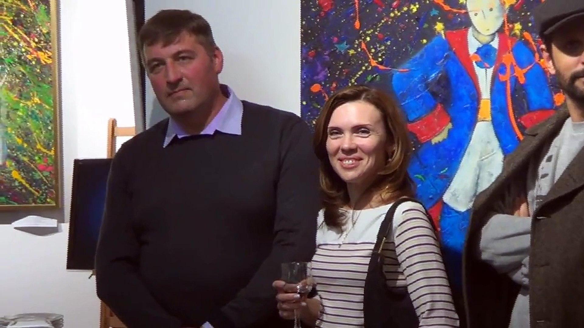 Арт-выставка в Spivakovska Art-Ego center  с участием живых тропических бабочек.