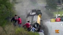 Amazing Accident Jolly Rally Valle d'Aosta 2014 Big Crash