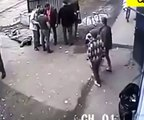 Cctv Fights Uk Epic Street Fight Caught On Cam In Russia
