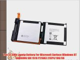 7.4v 31.5Wh Lapotp Battery For Microsoft Surface Windows RT SAMSUNG SDI 1516 P21GK3 21CP4/106/96