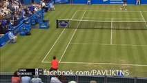 Gilles Simon vs Thanasi Kokkinakis Highlights ᴴᴰ Queen's Club 2015