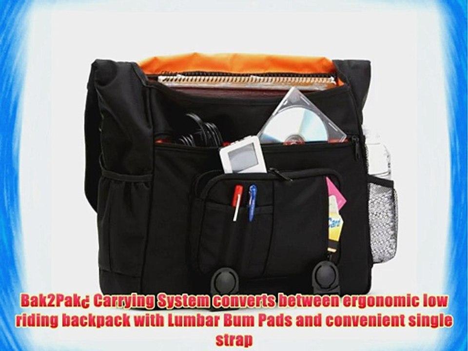 Bbp Hamptons Hybrid Messenger Backpack Laptop Bag Obsidian Black Xl Video Dailymotion
