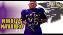 Nikolas Navarro - Jurupa High (Fontana, CA) Class of 2015 - Junior Year Highlights