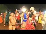Indian girls dance Garba and celebrate Navratri in India