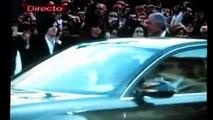 Leonard Cohen arrives at Prince of Asturias awards ceremony, Oviedo