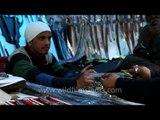 Kirpans, swords and knives for sale : Anandpur Sahib, Punjab