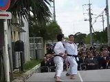 Demonstration by Kagawa-sensei and Kanayama-sensei
