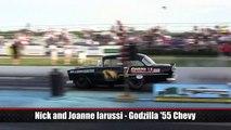 2014 Thompson Gasser Reunion Nick Iarussi Godzilla '55 Chevy Cruise In Nostalgia Drag Racing
