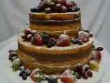 Bolos(Cakes) de Pasta Americana e Bolos de Chocolate Decorados - Doce Mel Doces