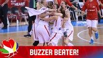 Hanusová's Deep Buzzer Beater Stuns Belarus! - Czech Republic v Belarus - EuroBasket Women 2015
