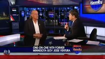 Shawn Hannity gets owned by Jesse Ventura on Shawn's own show