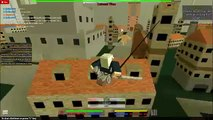 Roblox Attack On Titan Beta Ep 1 Punch Himmm! - video