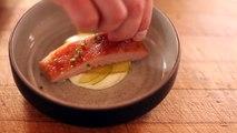 ChefSteps • Pork Cheek, Apple, Celery Root • Assembly
