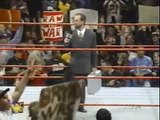 Shawn Michaels has something to say for Bret Hart - WWF RAW 11/24/97
