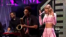 Taylor Swift - Blank Space Live Performance _ iHeartRadio Music Awards 2015 Full Show   ''The Move Makers Band''