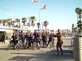 LAPD Police on Bikes at Venice Beach California FEB 2007