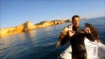 Pesca Submarina no Algarve - Spearfishing in Algarve - Portugal - GoPro HD Hero