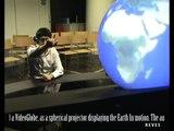 Laval virtual 2010 Réatité augmentée sur Lunettes transparentes - Augmented reality glasses