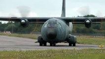 C160 transall armée de l'air Française take-off Nantes airport