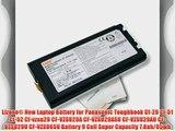 Lizone? New Laptop Battery for Panasonic Toughbook Cf-29 Cf-51 Cf-52 Cf-vzsu29 CF-VZSU29A CF-VZSU29ASU