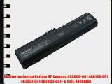 UBatteries Laptop Battery HP Compaq 455806-001 460143-001 462337-001 462853-001 - 6 Cell 4400mAh