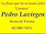 Pedro Lavirgen - La fleur que tu m'avais jetée (Carmen)