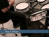Drum Lesson 7: Sixteenths on the Bass Drum Pt. II