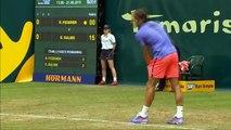 Halle 2015 Roger Federer vs Ernests Gulbis Highlights 17.06.2015 [HD 720p]