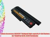 Lenovo Accessory 0A36307 Thinkpad high capacity 9-Cell Battery for ThinkPad X220 X230 Notebooks