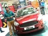 First look of Ford Figo Aspire | Driving India | Figo Aspire Review 2015