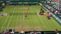 Roger Federer 2-0 Ernests Gulbis: Thẳng tiến vào tứ kết