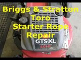 Linkage & Spring replacement on a Briggs & Stratton Quattro