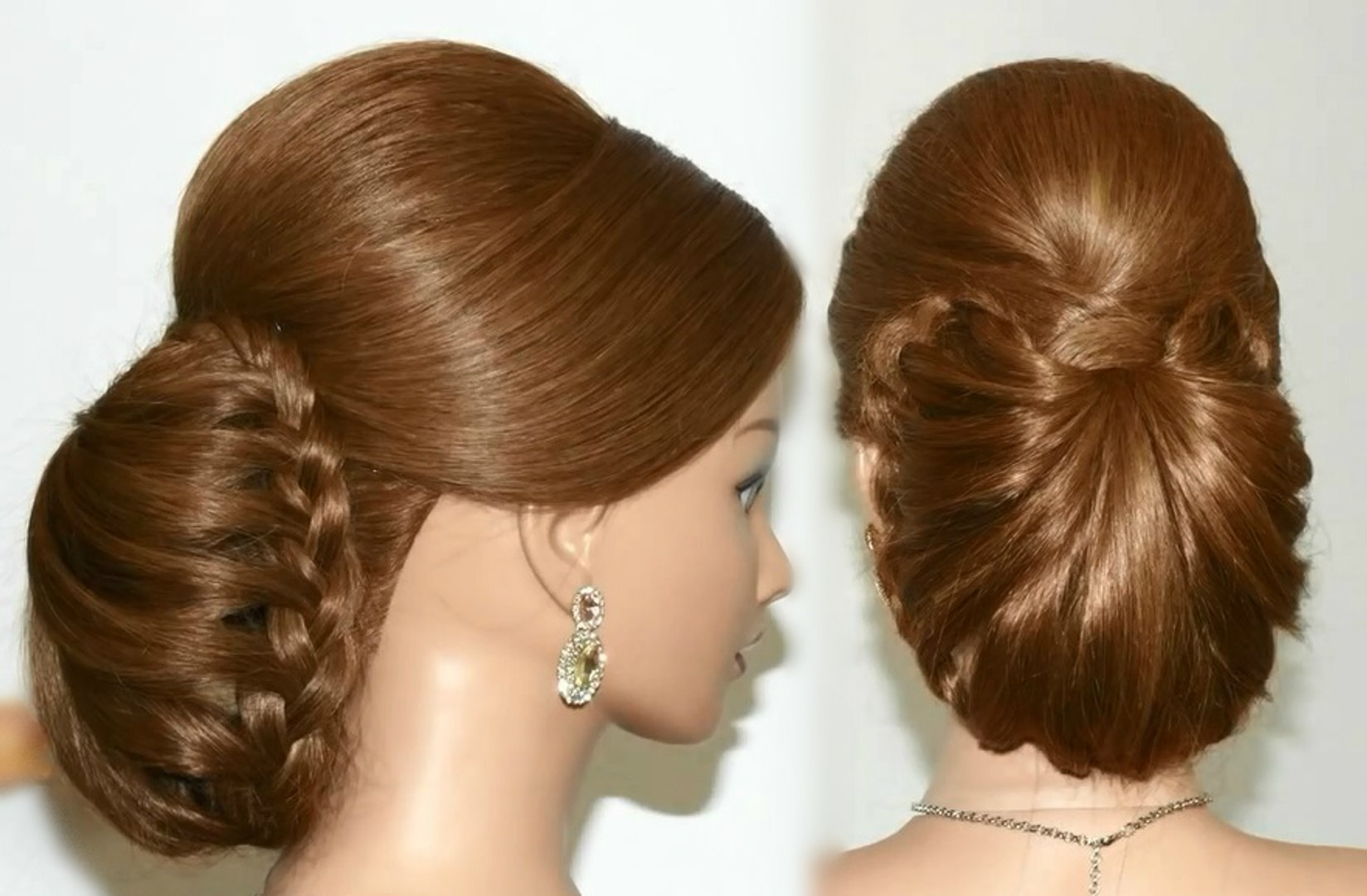 easy and stylish hair bun