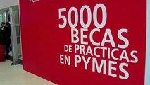 Entrega de las Becas Santander de Prácticas en PYMEs
