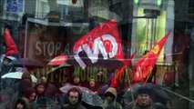 sans papiers - grève de la faim - Lille - 22 décembre 2012
