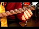Basic Jazz Music Theory: Bass Movement in D Major : Playing a Walking Bebop in D Major on Bass