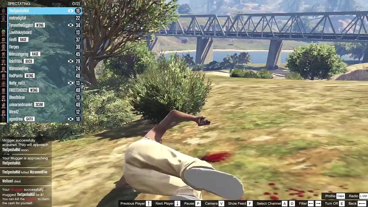 GTA 5 PC – Mugging Fun (Funny Moments)