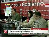 Taller Político de Alto Nivel. Socialismo y el III periodo de la Revolución Bolivariana. Chávez con gobernadores y alcaldes electos PSUV 5