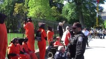 Mass Arrests at  White House