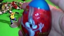 Looney Tunes Bugs Bunny Daffy Duck Tasmanian Devil Warner Brothers surprise eggs ルーニーテューンズ