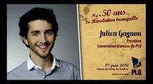 Hommage à Jean Lesage - Discours de Julien Gagnon
