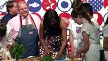 Nouvelle offensive de Michelle Obama contre l'obésité