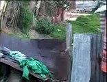 Así vive una familia sin agua y sin luz en Bogotá