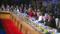 NATO Strasbourg: Merkel speaks at opening (German)