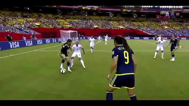 Women's World Cup Amazing Dribbling