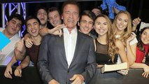 Arnold Schwarzenegger Pranks Fans at Madame Tussauds