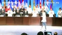 Shakira: Himno Nacional de Colombia VI Cumbre de las Américas (national anthem Colombia)