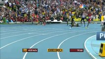 Usain Bolt claim 3rd historic 200m title - Universal Sports